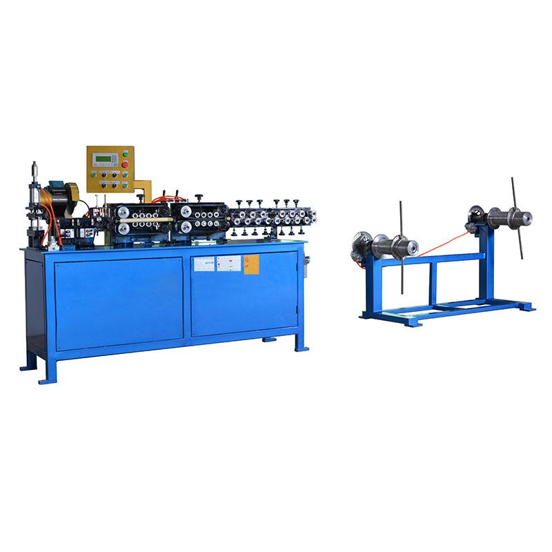 PSC系列CNC数控全自动铜管与铝管调直切断机