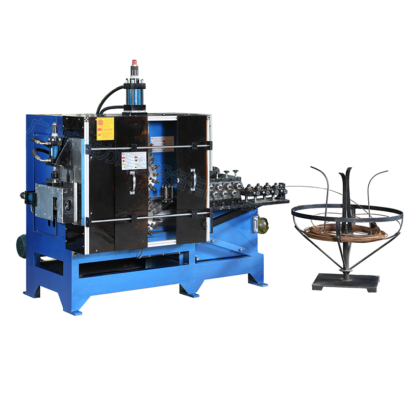 WFM-6MM系列全自动液压式金属丝波浪线成型机